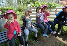 Gardening at the Environment Centre